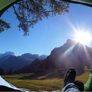 Cascada La Chorrera Camping