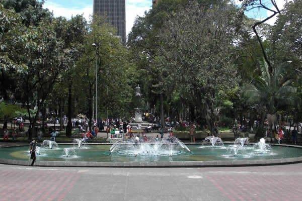 Parque de Bolívar Medellin